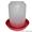 Вакуумная пластиковая поилка 8 л. для птицы #1306765