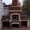 .Барбекю мангал печь камин из кирпича. Установка каминных топок... #1606944
