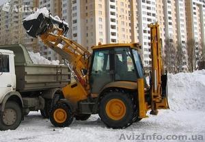 Расчистка территорий от снега с вывозом - Изображение #1, Объявление #1006779