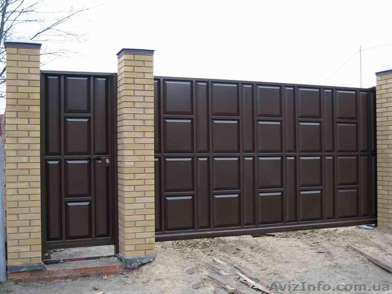 Ворота для дома харьков цены системы для ворот came