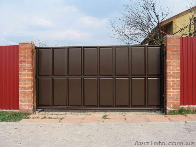 ворота гаражные харьков собственного производства