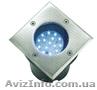 Светильник светодиодный грунтовой 230В 2Вт 24 led