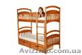 Двухярусная деревянная кровать Карина,  от производителя,  торговая мебельная марк