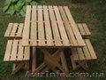 Продам набор раскладной мебели «ПИКНИК» из натурального дерева