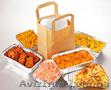 одноразовые пищевые контейнеры из плотной алюминиевой фольги