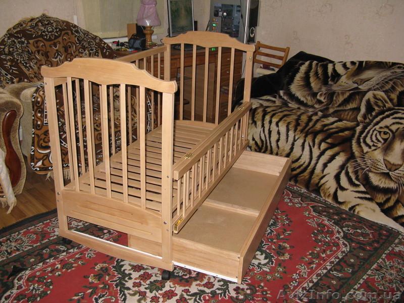 Детские кроватки с ящиками своими руками