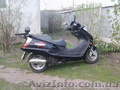 макси скутер Huatian-T150