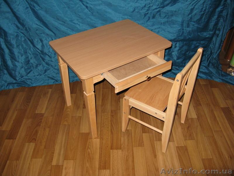 Стул и столик для детей своими руками.