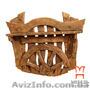 Мебель из дерева на заказ, Вешалка под старину, Объявление #1235752