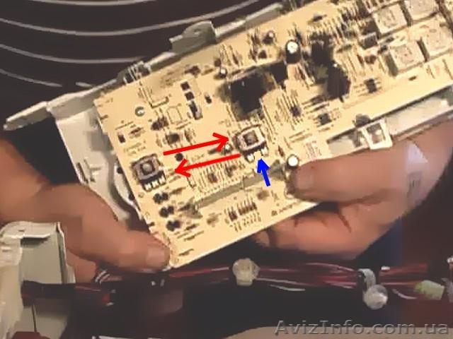 Ремонт модуля индезит своими руками