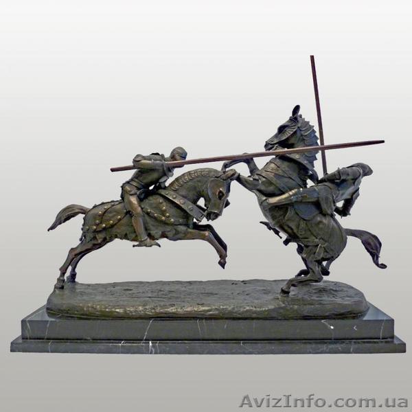 Альфред Эмильян граф де Ньеуверкерке. Рыцарский бой., Объявление #1433708