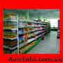 Рассрочка! Металлические стеллажи,  оборудование для продуктовых магазинов