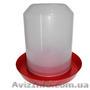 Вакуумная пластиковая поилка 8 л. для птицы, Объявление #1306765