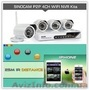 Камеры видеонаблюдения с 4-мя беспроводными камерами 6004 wifi