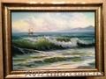 Картина морской пейзаж.