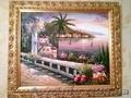 Картина маслом средиземноморье.