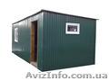 Бытовка, дачный домик 5,0х3,0х2,2 зеленый - Изображение #2, Объявление #1565937