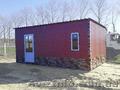 Дачный домик из профнастила декоративного 6,0х3,0х2,3 м - Изображение #2, Объявление #1565934
