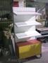 Стеллажи разборные и стационарные торговое и офисное оборудование б/у и новое