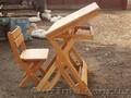 Парта детская деревянная  - Изображение #5, Объявление #1580724