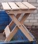 Табурет складной деревянный - Изображение #3, Объявление #1577122