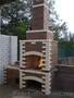 .Барбекю мангал печь камин из кирпича. Установка каминных топок... - Изображение #3, Объявление #1606944
