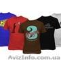 Шелкотрафаретная печать на футболках ткани изделиях шелкография, Объявление #1611948