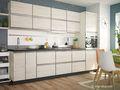 Кухни модульные фабричные по лучшей цене - фасад крашеный,  пленочный,  ламинир.