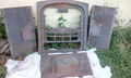 Продам чугунный камин литой из 5 составных частей для дачи или дома