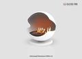 Напольный биокамин Sfera-m2 ТМ Gloss Fire